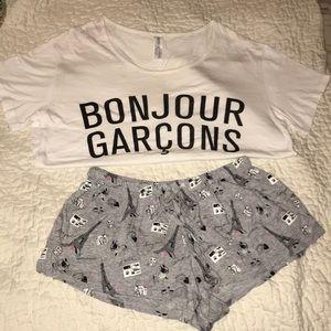 Bonjour Garçons Pajama set